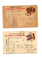 Carte Franchise Militaire - Marcophilie (Lettres)