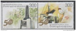 SOUTH KOREA , 2016, MNH, KOREAN INSTITUTE OF SCIENCE AND TECHNOLOGY, MICROSCOPES,2v - Sciences
