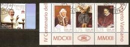 Vatican Vatikaanstad 2012 Yvertn° 1597-1600 (°) Oblitéré Used Cote 9,20 Euro - Vatican