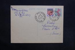 FRANCE - Entier Postal Type Semeuse + Complément De Walscheid Pour Paris ( Radio Luxembourg) En 1965 - L 31369 - Cartes Postales Types Et TSC (avant 1995)
