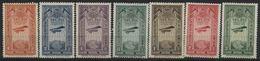 1931 Etiopia, Prima Lienea Aerea Postale , Serie Completa Nuova (**) - Etiopia