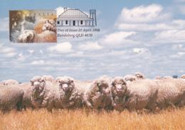 Australia 1998 Maxicard Sc 1651-1655 Farming In Australia - Cartes-Maximum (CM)