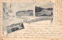 Mozambique - INHAMBANE - Multi-views Postcard - Year 1899. - Mozambique