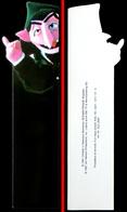 Marque-page Signet : Allemagne 1997 : 1 Rue Sésame - Le Comte Vampire - Marque-Pages