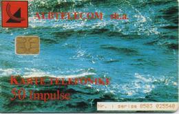 ALBANIA  PHONECARD 2006/WATER-6/00-50 Units CN:0503-USED(10) - Albanië