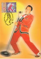 Australia 1998 Maxicard Sc 1663-1674 Rock N Roll Music In Australia - Cartes-Maximum (CM)