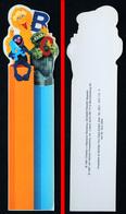 Marque-page Signet : Allemagne 1997 : 1 Rue Sésame - Le Gros Oiseau - Grover Et Oscar - Marque-Pages