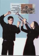 Australia 1998 Maxicard Sc 1679-1680 Performing And Visual Arts - Cartes-Maximum (CM)