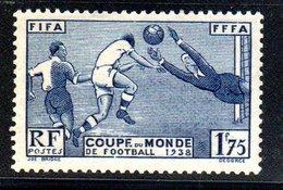N 396 / 1 Franc 75 Outremer  /  NEUF **  /  Côte 35 € - France