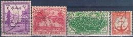 Pakistan 1954  -  Michel  29 C + 46 + 67 + 70   ( Usados ) - Pakistán