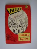 Jersey Motorists Guide,Falle's,guide Touristique De Jersey,1961 - Tourism Brochures