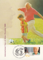 Australia 1999 Maxicard Sc 1725-1726 International Year Of Older Persons - Cartes-Maximum (CM)