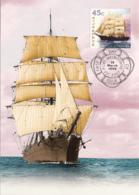 Australia 1999 Maxicard Sc 1729-1732 Sailing Ships - Cartes-Maximum (CM)