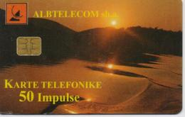 ALBANIA  PHONECARD 1999/SUNSET-5/99-50 Units -USED(10) - Albania
