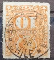 COLUMBUS-10 C-POSTMARK ANTOFAGASTA - CHILE - 1878 - Chile