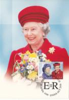 Australia 1999 Maxicard Sc 1747 45c Queen Mother, Queen Elizabeth II 73rd Birthday - Cartes-Maximum (CM)