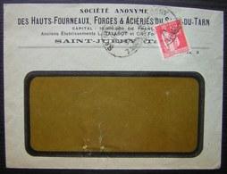 Saint Juéry (Tarn) Société Des Hauts Fourneaux Forges Et Aciéries  Du Saut Du Tarn - 1921-1960: Periodo Moderno