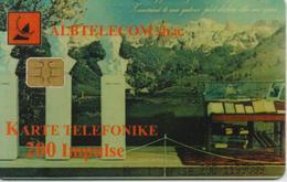 ALBANIA  PHONECARD 1999/THREE STATUES-5/99-200 Units -USED(10) - Albanië
