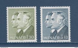 Monaco - YT N° 1538 Et 1539  - Neuf Sans Charnière - 1986 - Gebraucht