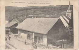 Ain . Ruffieu-en-Valromey . Eglise Et Sapins . - France