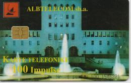 ALBANIA  PHONECARD 1999/FOUNTAINS-7/99-100 Units -USED(10) - Albanië