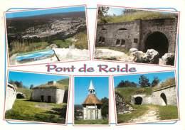 25 - Pont De Roide - Le Fort Des Roches - Multivues - Voir Scans Recto-Verso - France