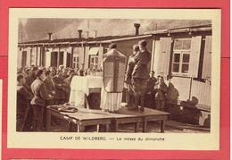 PRIERE POUR LES PRISONNIERS 1941 CAMP DE WILDBERG ALLEMAGNE MESSE DU DIMANCHE WWII - Religion &  Esoterik