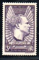 N 338 / 3 Francs Lilas   /  NEUF **  /  Côte 15 € - Unused Stamps