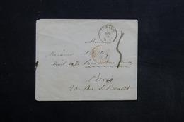 ITALIE - Enveloppe De Torino Pour La France En 1854 - L 31389 - Sardaigne