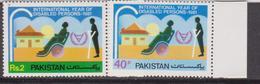 Pakistan Int.l Year Of Disabled Health Set MNH - Handicap