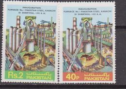 Pakistan Furnace Set MNH - Fabbriche E Imprese