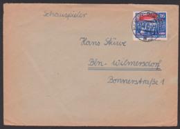 Dokument Hans Stüwe Schauspieler (1901 - 1976) Anschreiben Mit Bitte Um Autogramm, UfA Ballnacht Berlin-Buchholz - Autographes