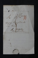 FRANCE - Lettre De Paris Pour Angers En 1808 - L 31390 - 1801-1848: Precursors XIX