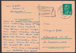 """Destruction Des Armes Nucléaires MWSt. Dresden """"Fordert Die Vernichtung Der Atomwaffen!"""" 9.5.55 - DDR"""