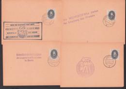 Propaganda-Stempel Weltfestpiele Der Jugend Und Studenten Berlin Artern. Angermünde Bernsbach Mit 1 Pf. EULER - [6] République Démocratique