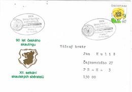 33065. Carta PRAHA (Republica Checa) 2002. SCOUTS Theme. Skautsych - Cartas