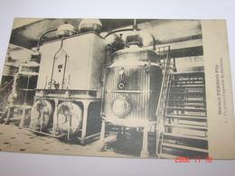 C.P.A.- Pontarlier (25) - Maison Pernod Fils - Un Groupe D'Appareils De Distillation - 1910 - SUP (BP 5) - Pontarlier