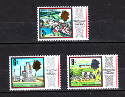 Trinidad &Tobago -1969. Industrie : Zucchero,petrolio,fertilizzanti.  Industries: Sugar, Oil, Fertilizer. MNH - Fabbriche E Imprese