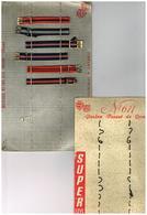 Bracelets Sur Présentoir Vuillemin-Sampol Comodhor Sud Perpignan Plus 1 Présentoir Vide Super Luxe N°611 - Joyas & Relojería