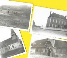 Fry (76) Ferme 4 Photos Originales Amateur Scouts Années 40 - Places