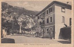 Polpet - Piazzelta E Monumento Ai Caduti - Belluno
