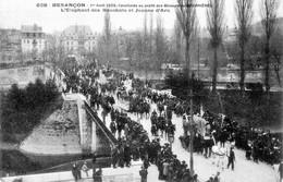 BESANCON (Doubs) - Cavalcade Au Profit Des Mineurs De Courrières. 1er Avril 1906. N° 638. TB état. - Besancon