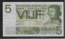 Pays Bas - 5 Gulden - Pick N°90 - TTB - [2] 1815-…: Königreich Der Niederlande