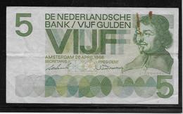 Pays Bas - 5 Gulden - Pick N°90 - TB - 5 Florín Holandés (gulden)