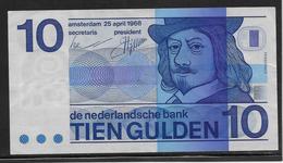 Pays Bas - 10 Gulden - Pick N°91 - TTB - [2] 1815-… : Kingdom Of The Netherlands
