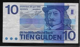 Pays Bas - 10 Gulden - Pick N°91 - TTB - [2] 1815-… : Regno Dei Paesi Bassi