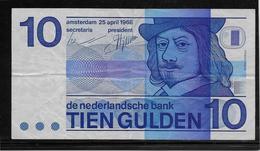 Pays Bas - 10 Gulden - Pick N°91 - TTB - [2] 1815-… : Koninkrijk Der Verenigde Nederlanden