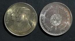 Thailand Coin 5 Baht 1982 200th  Ratanakosin Chakri Dynasty Y149 - Thailand
