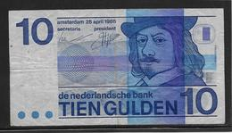 Pays Bas - 10 Gulden - Pick N°91 - TB - [2] 1815-… : Koninkrijk Der Verenigde Nederlanden