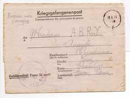 - Lettre STALAG VI C Pour CHINDRIEUX (Savoie) 5.3.1944 - A ETUDIER - - Marcophilie (Lettres)